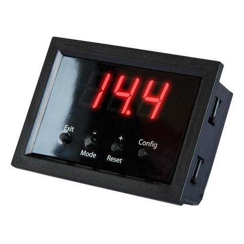 Вольтметр цифровой с функцией защиты врезной KICX Quick Voltmeter-2.