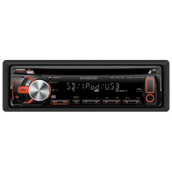 Автопроигрыватель CD/MP3 KENWOOD KDC-4757SD