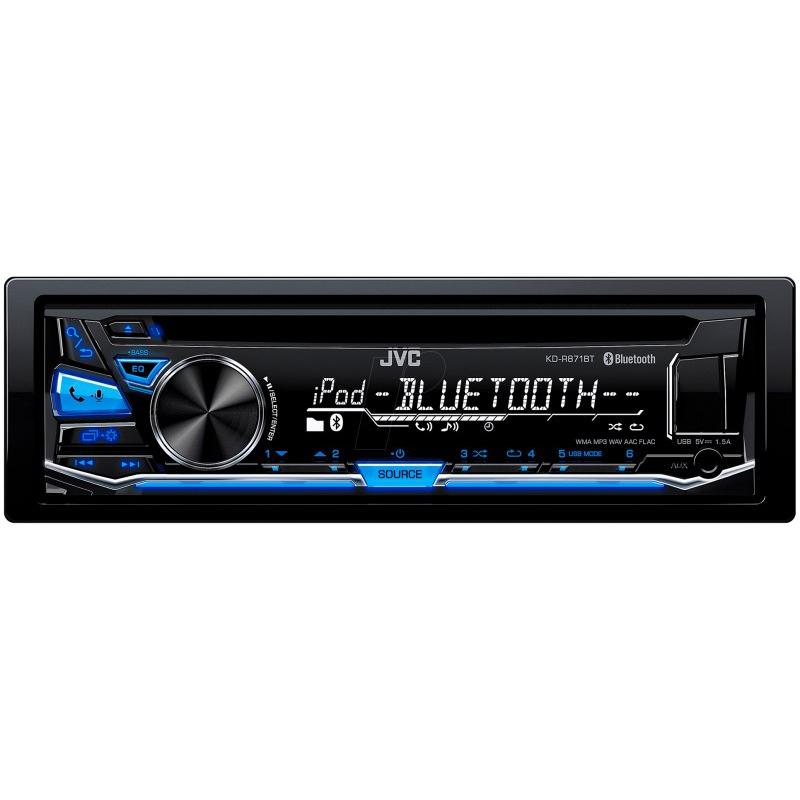 Автопроигрыватель CD/MP3 JVC KD-R871BT