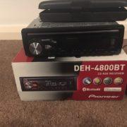 Автопроигрыватель CD/MP3 PIONEER DEH-4800BT