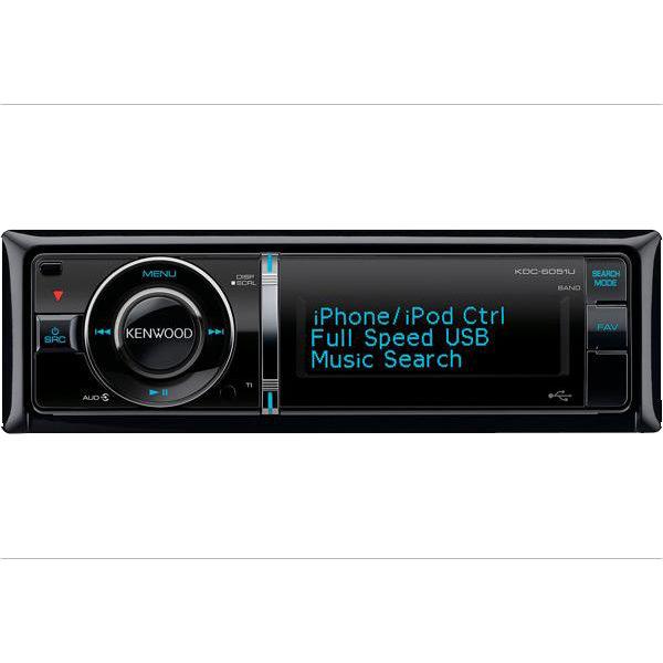 Автопроигрыватель CD/MP3 KENWOOD KDC-6051U