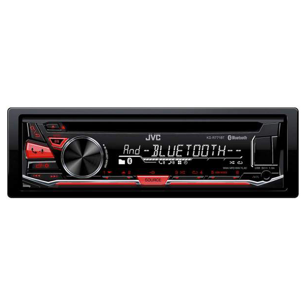 Автопроигрыватель CD/MP3 JVC KD-R771BT
