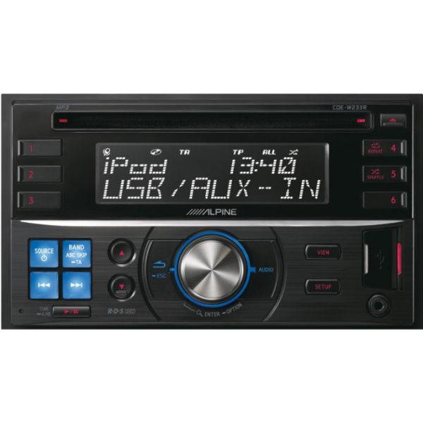 Автопроигрыватель CD/MP3 2DIN ALPINE CDE-W233R