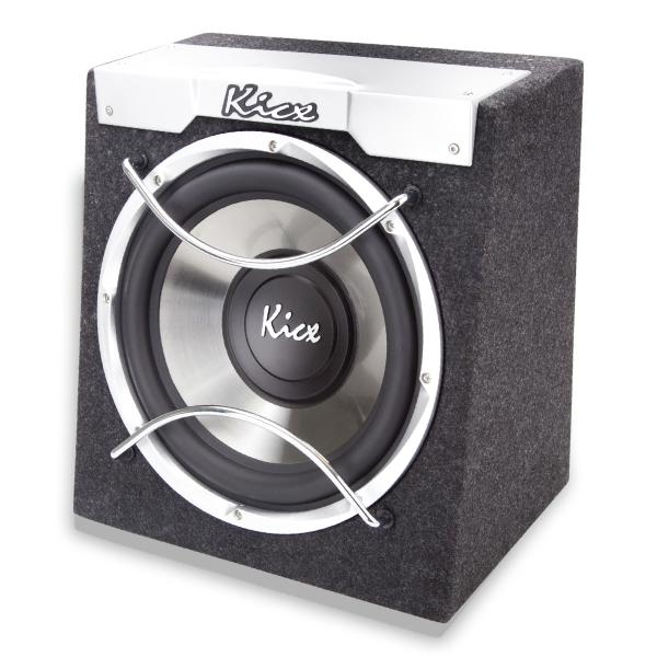 Автосабвуфер активный KICX ICQ-300BA