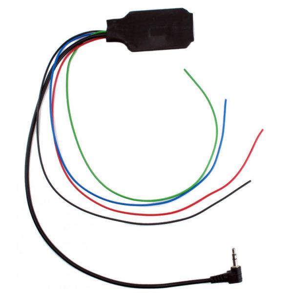 Адаптер кнопок на руле резистивный, универсальный, для Pioneer, MiniJack, UN-PI