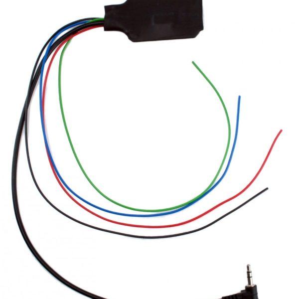 Адаптер кнопок на руле резистивный, универсальный, для Pioneer, MiniJack, UN-PI-1