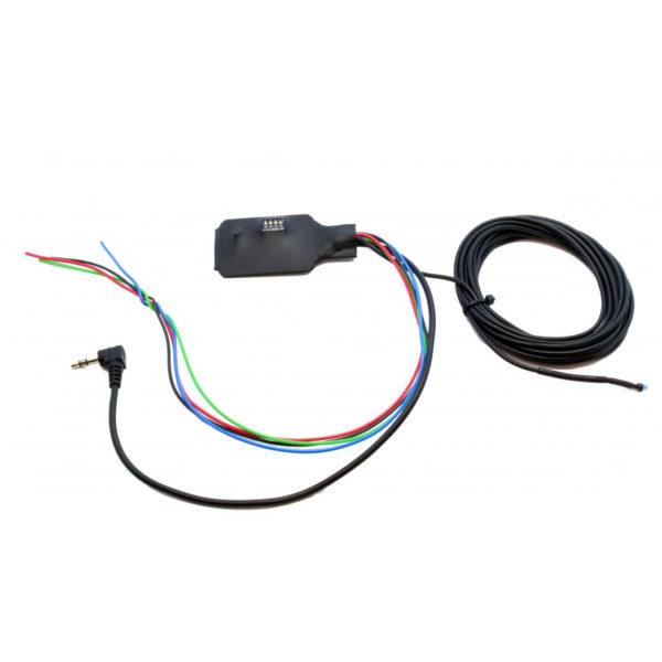 Адаптер кнопок на руле резистивный, универсальный, запрограм., IR+MiniJack, UN-DIP.