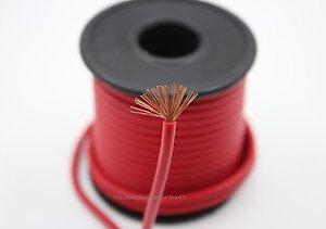 Провод силовой красный 2 Ga, DLS PL 33R