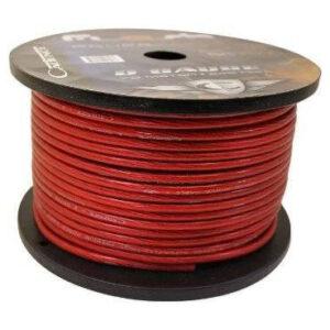 Провод силовой красный 2 Ga Ural PC-DB2GA RED
