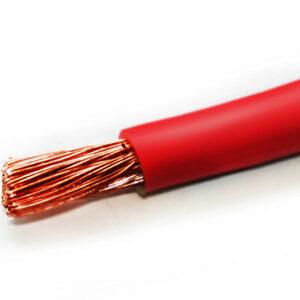 Провод силовой красный 50 мм. кв. ПуГВ-50.