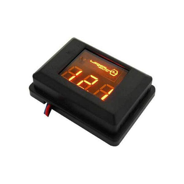Индикатор напряжения Ural DB Voltmeter оранжевый.