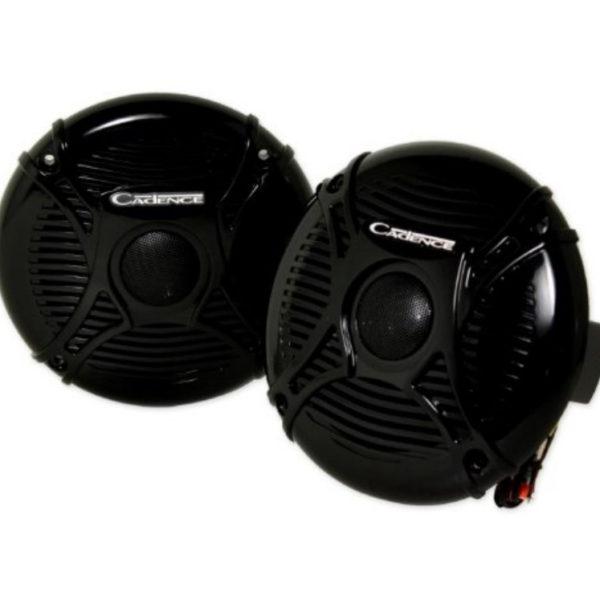 Морская акустика Cadence SQS-65B, динамики 6,5″ коаксиальные 2-х полосные. Черные!!!