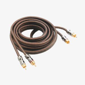 Кабель межблочный FOCAL PR5, 5 м. Супергибкий RCA кабель. Позолоченные угловые разъемы.
