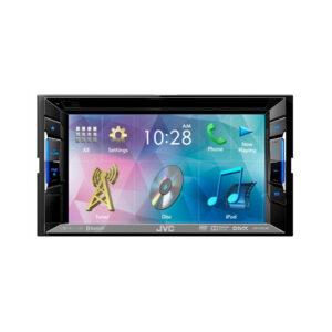 JVC KW-V220BT 2-DIN DVD/USB ресивер c Bluetooth