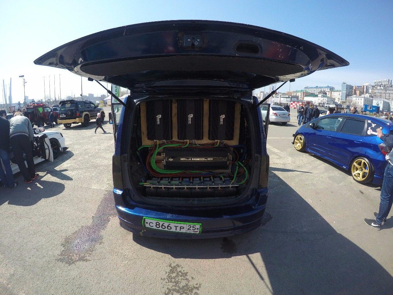 Kicx Team DV на открытии автозвукового сезона ДВ г.Владивосток