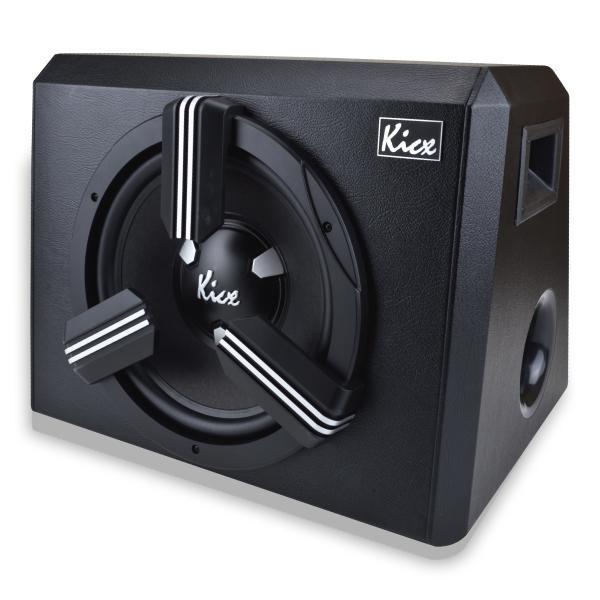 Автосабвуфер активный Kicx STQ-301BPA