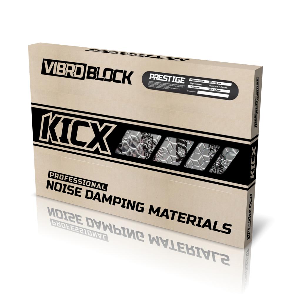 Вибропоглощающий материал Kicx PRESTIGE
