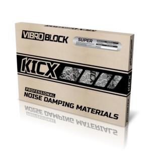 Вибропоглощающий материал Kicx SUPER