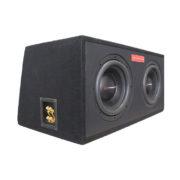 Сабвуфер MAGNUM MBW 2*10-24 SF V-BOX 65L 1OHM