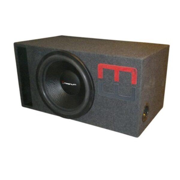 """MAGNUM MBW 15-22SF V-BOX SPL 120L 1OHM сабвуфер в корпусе серии """"BASIC"""""""