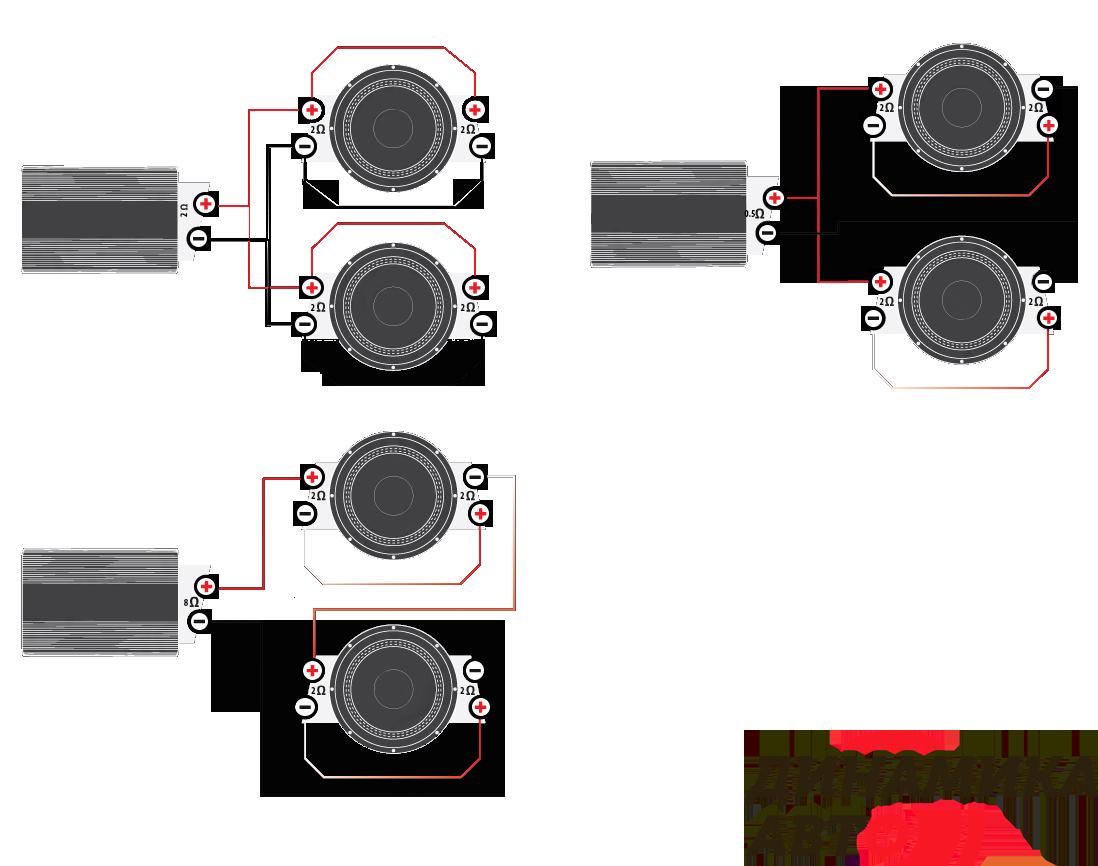 схема установки пассивного сабвуфера